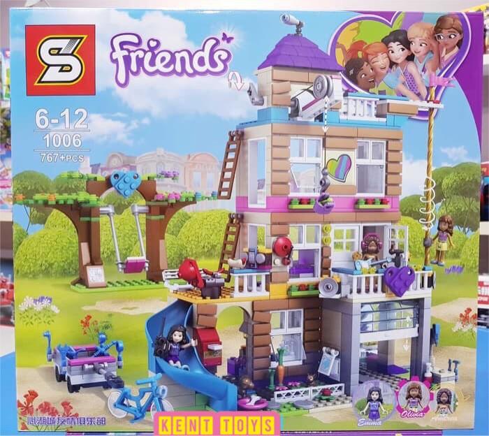 Jual Lego Sy 1006 Friends Friendship House Lego Transformers