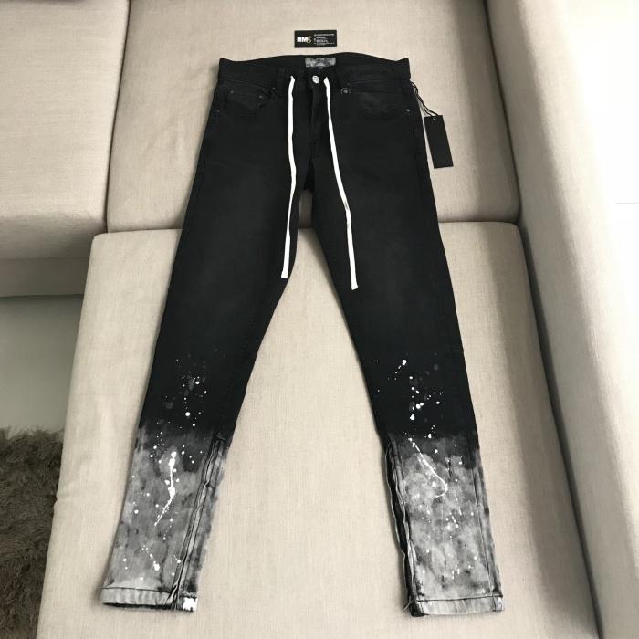53f25c90 Jual Hyperdenim Flame Nate Black Zipper Jeans 100%Authentic ...