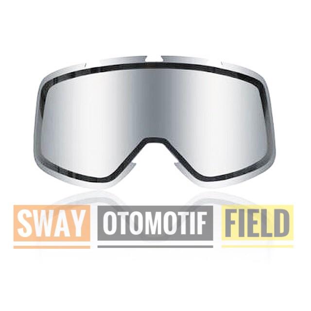 Foto Produk Shark Raw / Drak / Vancore iridium visor / replacement lense dari sway otomotif field