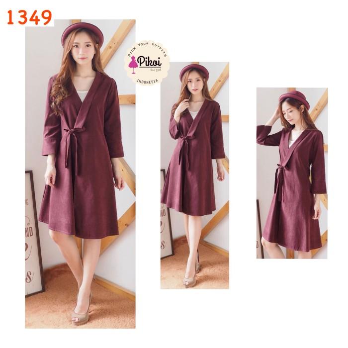harga Dress 2 in one / long outer / luaran panjang / dres ikat / korea style Tokopedia.com