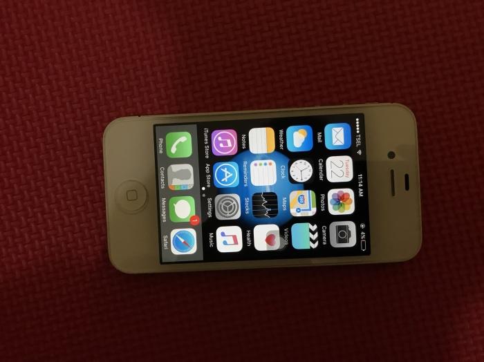 Jual IPHONE 4S 64 Gb ex Garansi Resmi Indonesia (iBox) White Original 100%  - Kota Palembang - Openid | Tokopedia