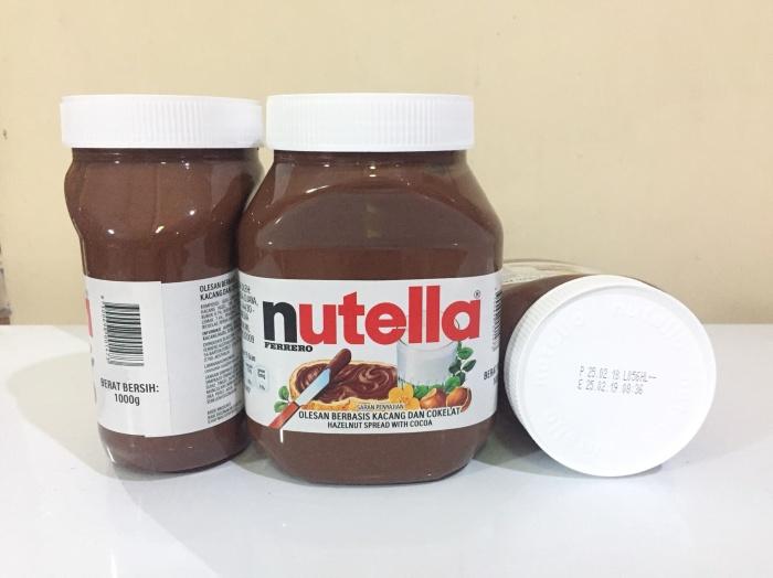 harga Nutella 1kg 1000 1000gram 1000gr italy Tokopedia.com