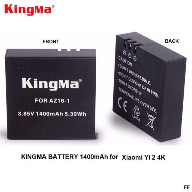 Battery Xiaomi Yi 2 / Xiaomi Yi II 4k - baterai replacement xiaomi Yi