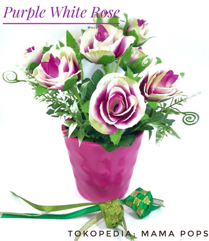 Info Rangkaian Bunga Mawar Plastik Hargano.com