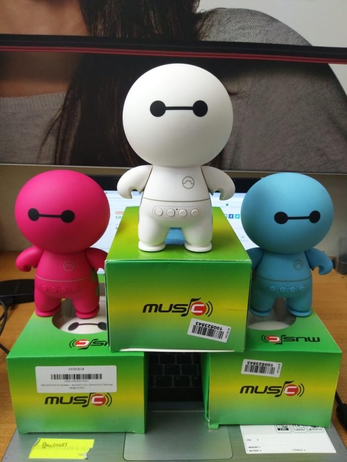 harga Speaker bluetooth portable compre a9 mini baymax bisa pakai kartu sd Tokopedia.com