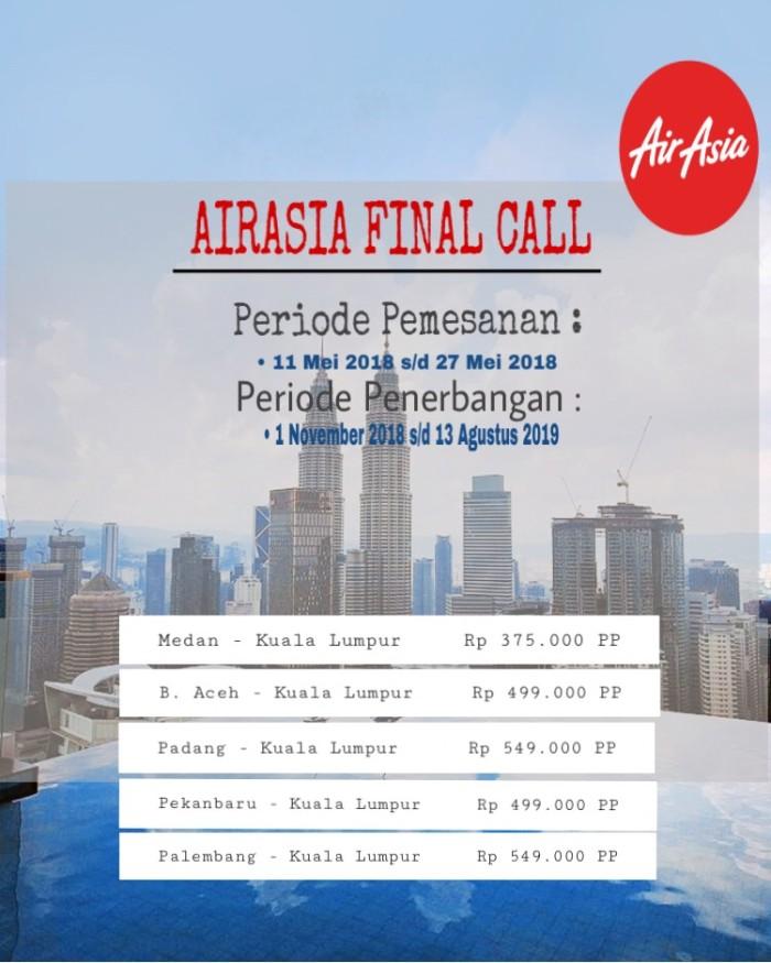 Jual Tiket Promo Medan Kl Hanya 350rb Pp Kota Medan Tiket Pesawat Promo Aira Tokopedia