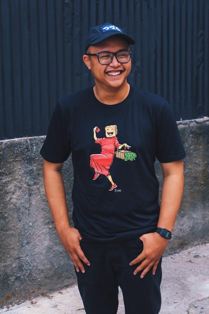 "Foto Produk Hunting Pasar T-Shirt ""Pon-Pon"" dari Hunting Pasar Store"