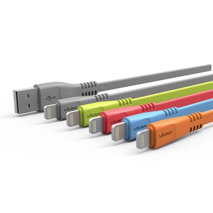 Foto Produk Kabel Data Vivan Charger Iphone 5 6 6+ dari Glitz Indonesia