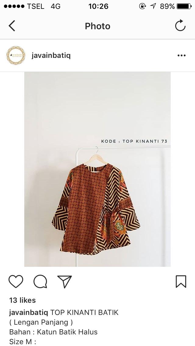 Top Kinanti Batik - 3