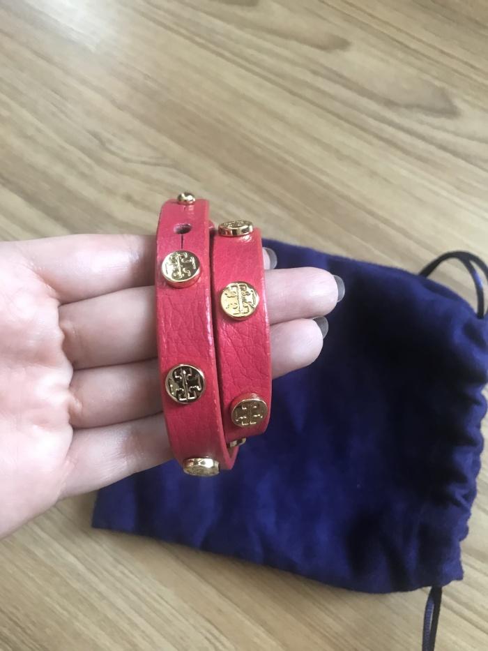 3c3a3c5960a Jual Tory Burch Bracelet   TB leather original - Best Deal - DKI ...