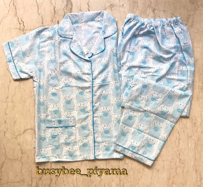 harga Piyama katun dewasa pink sheep | baju tidur sleepwear katun jepang Tokopedia.com