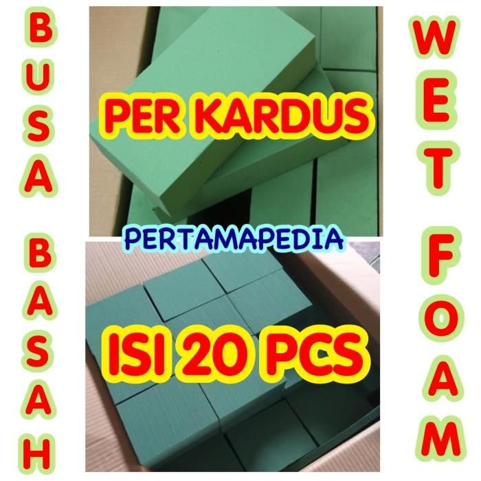 WET FLORAL   FOAM BUSA BUNGA BASAH  FOAM BUSA OASIS - OASE Kardusan. fa1e4903dc