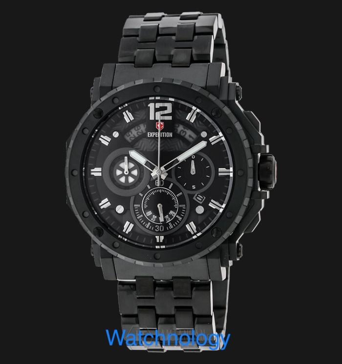 Jam Tangan Expedition E 6402 MC Full Black