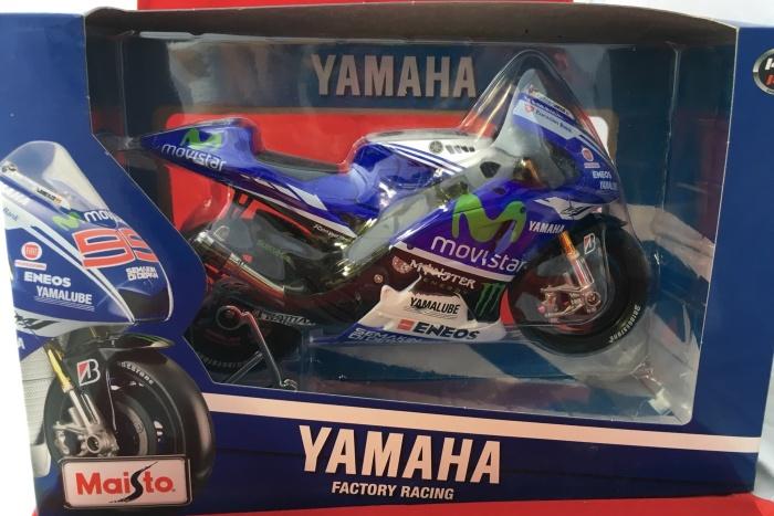 Foto Produk Maisto 1/10 Diecast Motorcycles Yamaha Factory Racing No. 99 dari Dompu Shop