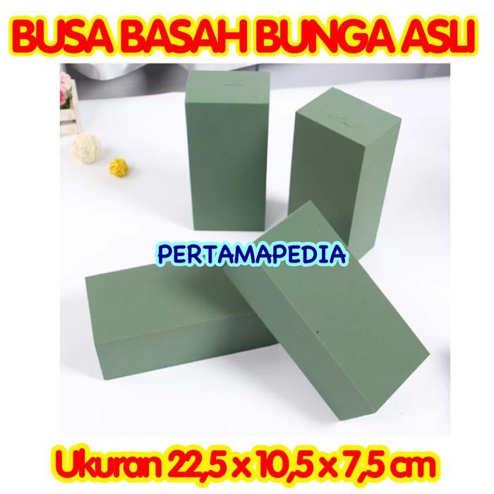 Jual FLORAL FOAM BASAH  BUSA HIJAU BASAH  GABUS BUNGA HIDUP  OASIS ... 03b7a5145a