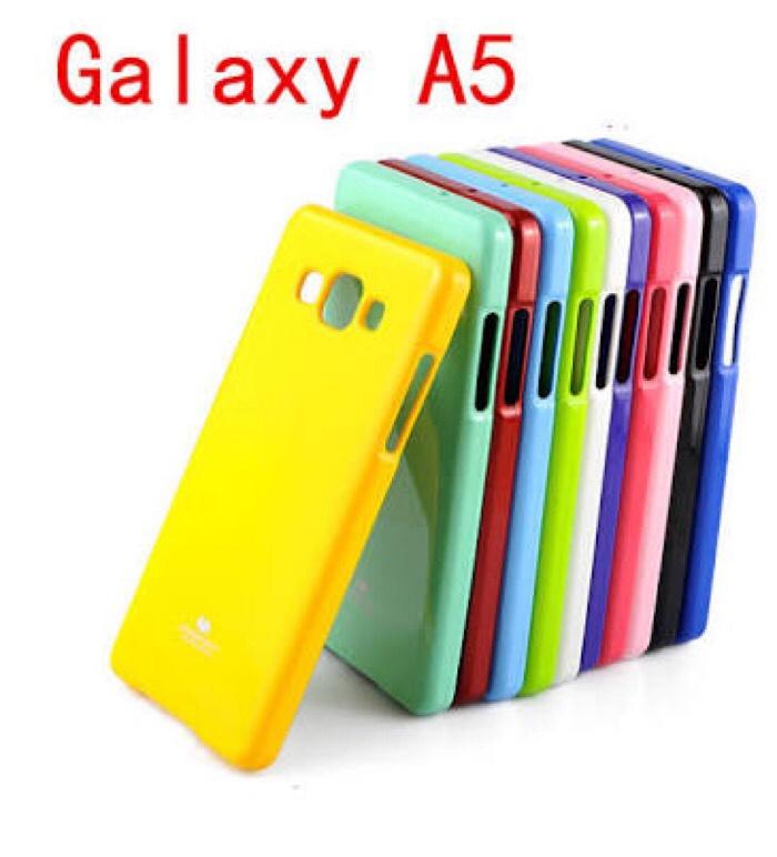 Foto Produk Samsung Galaxy A5 2015 A500 Origin Mercury Goospery Jelly Glitter Case dari BeautyCasee