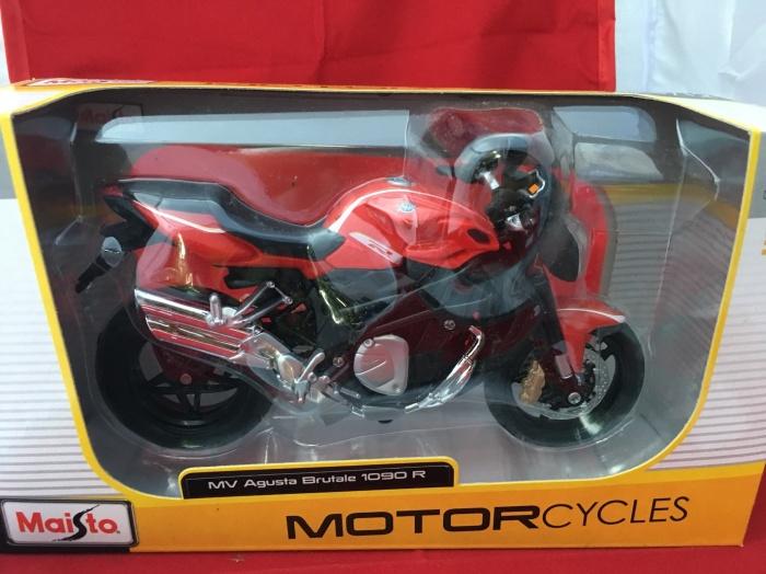 Foto Produk Maisto 1/12 Diecast Motorcycles MV Agusta Brutale 1090 R dari Dompu Shop