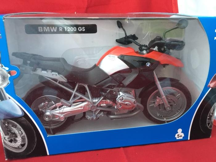 Foto Produk Newray 1/12 Diecast Motorcycles BMW R 1200 GS dari Dompu Hobby Shop