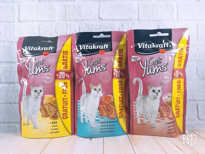 harga Vitakraft cat yums/snack kucing/makanan kucing Tokopedia.com