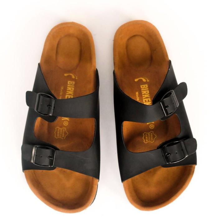 ad66cbccb Jual Sandal Birkenstock Pria Gesper 2 Arizona Hitam Premium - Kab ...