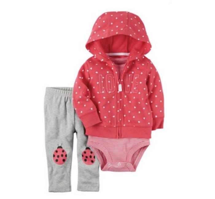 harga Jaket carters 3in1 bayi perempuan /carter set baby cewe murah lucu Tokopedia.com