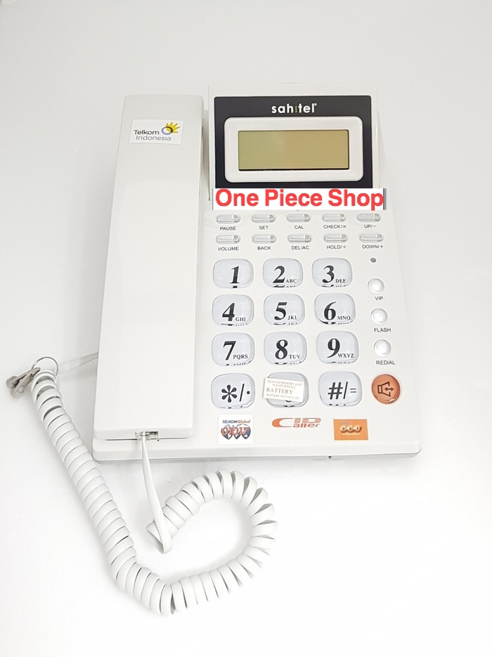 Foto Produk Telepon Sahitel S57 White dari One piece shoper