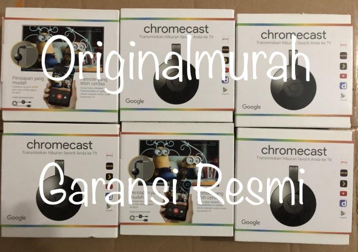 harga Official google chromecast 2 hdmi streaming tv dongle garansi resmi Tokopedia.com