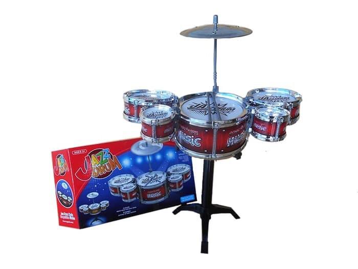 harga Mainan drumset mini anak lengkap simbal stick alat musik pukul drum Tokopedia.com