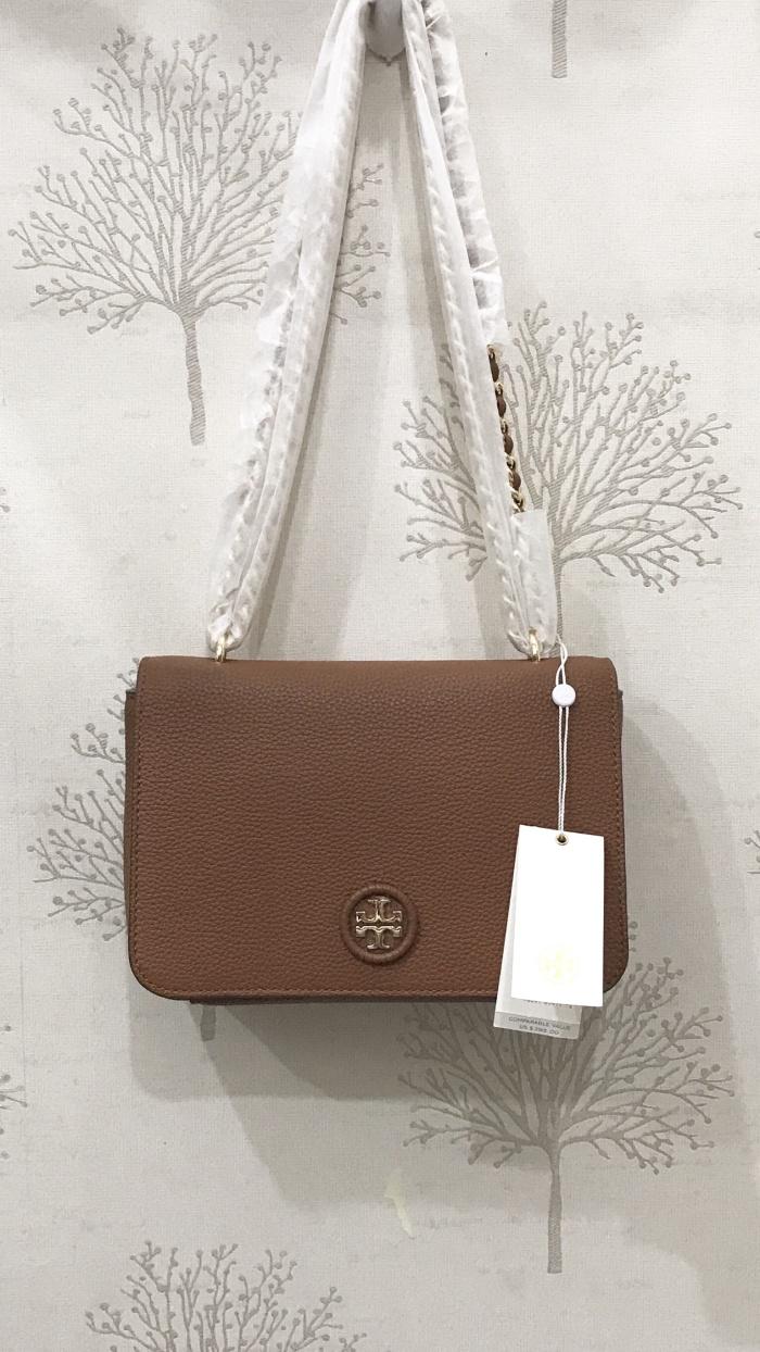Jual Tas Tory Burch Whipstitch Logo Adjustable Chain Leather Bag Crossbody