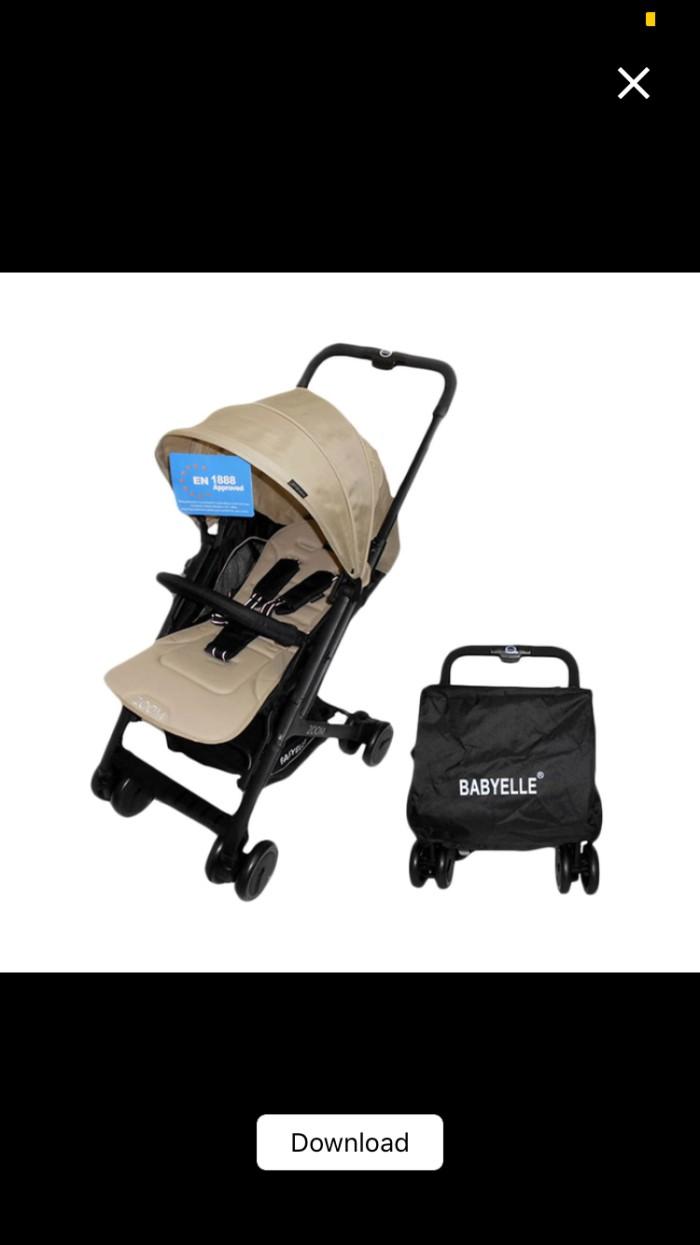 Info Stroller Baby Elle Zoom Travelbon.com