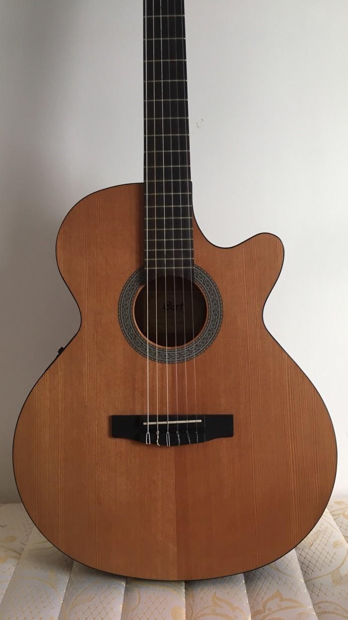 Gitar Akustik Elektrik Cort CEC 1 OP Nylon, not APX500 , Sfx E, fender