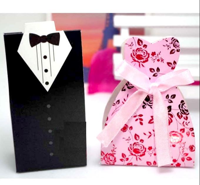 Foto Produk Kotak couple wedding kotak box souvenir kotak pasangan motif baju dari box souvenir grosir