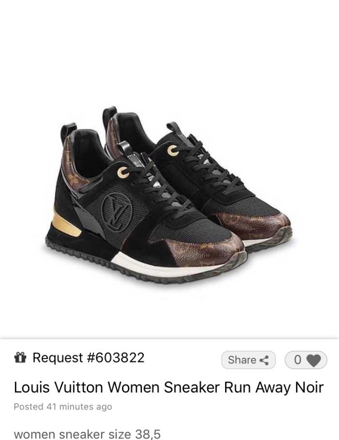 f2d23203132 Jual Louis Vuitton Women Sneakers Run Away - Jakarta Utara - healthy123 |  Tokopedia