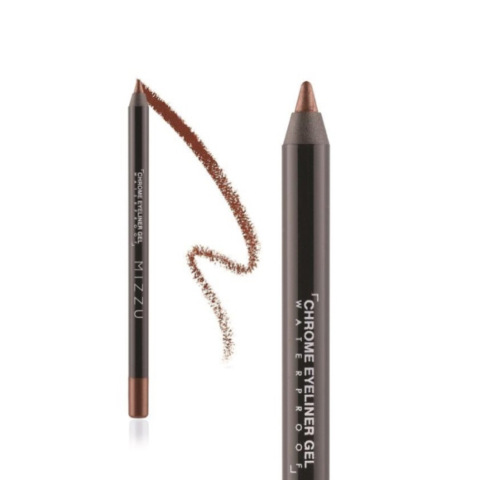 harga Mizzu chrome eyeliner gel earth brown 02 - eye liner coklat waterproof Tokopedia.com
