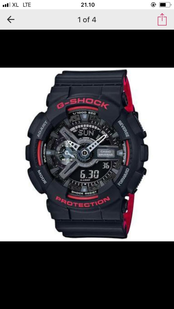 harga G shock ga 110hr 1a Tokopedia.com