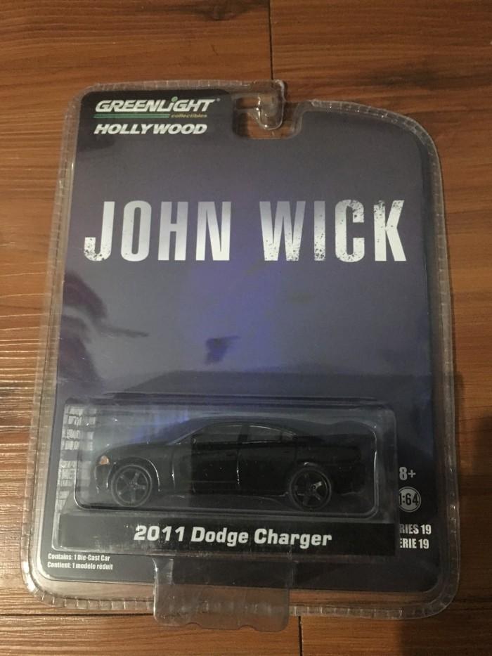 Greenlight john wick 2011 dodge charger
