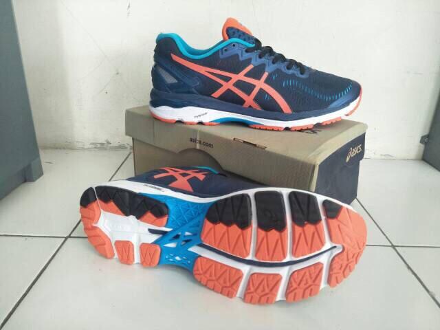 b111f198e1d410 Jual Sepatu Lari Pria - Asics Gel Kayano 23 Original Shoes - Navy ...