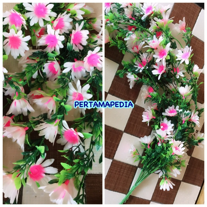 harga Daun bunga artificial/ daun bunga hias sintetis/ daun bunga buatan Tokopedia.com