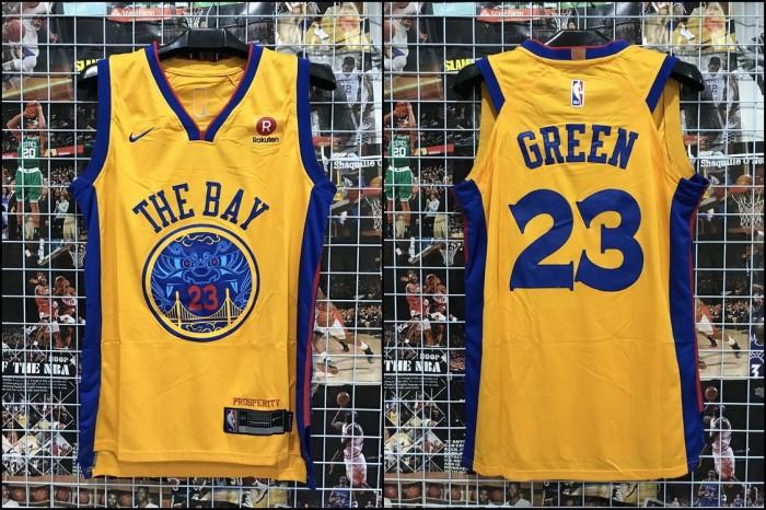 best website 069b0 aa819 Jual Jersey Basket Golden State Warriors GSW The Bay Green City Edition -  Kota Batam - RR7 Shop   Tokopedia