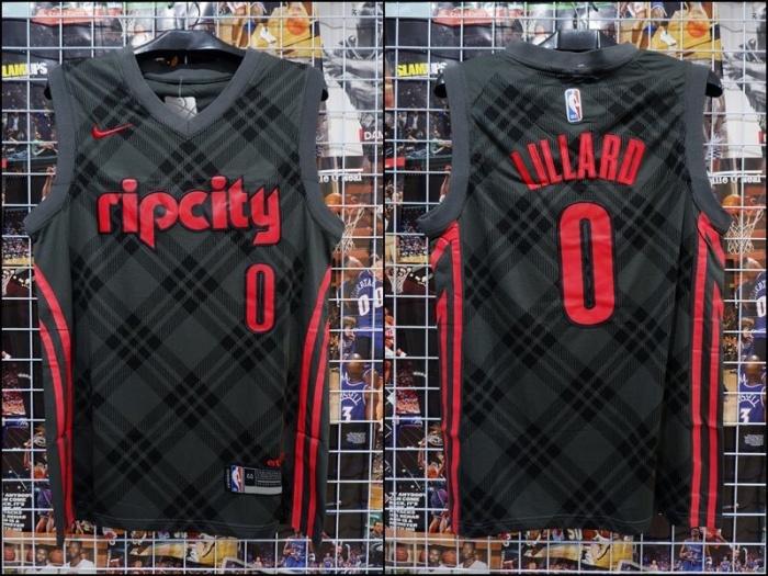 the best attitude 75882 afd4b Jual Jersey Basket Portland Blazers Ripcity Damian Lillard #0 City Edition  - Kota Batam - RR7 Shop | Tokopedia
