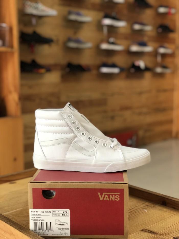 Jual Vans SK8-Hi True White. - Seija Company Store  5510109d35