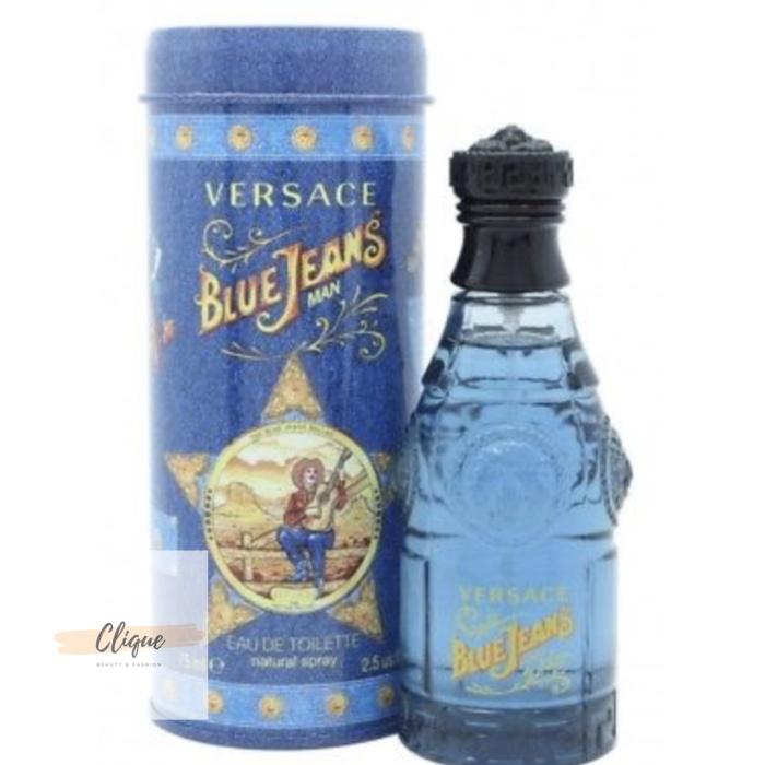 Jual Versace Jeans Edt 100Clique Men 75ml Blue Parfum Original prelovedandnewTokopedia rdCBQxoeW