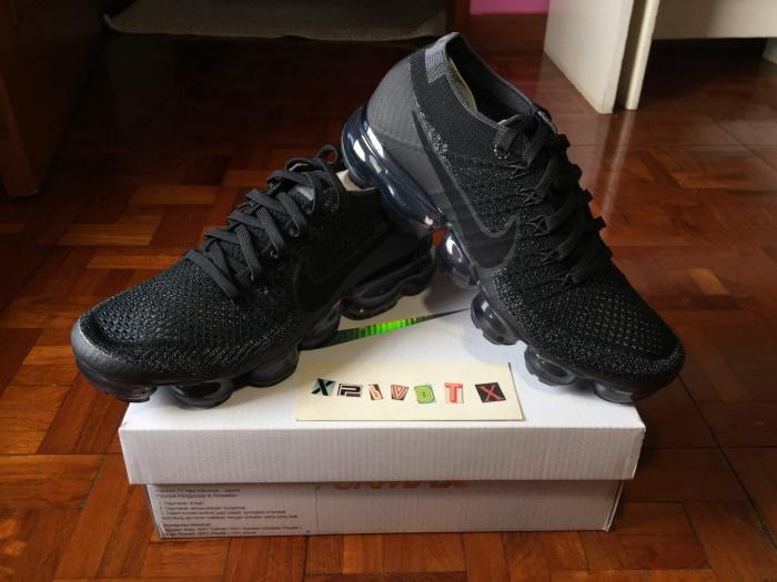 63de78c3c3faa Jual Nike air vapormax flyknit triple black - xpivotx