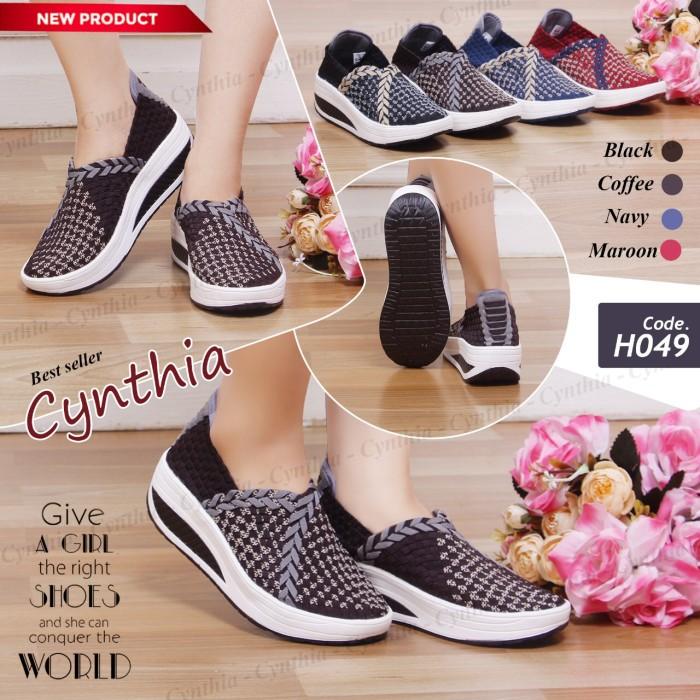Info Sepatu Cynthia Wedges DaftarHarga.Pw
