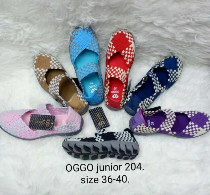 harga Sepatu flat rajut anyaman anyam oggo original kids anak type 204 Tokopedia.com