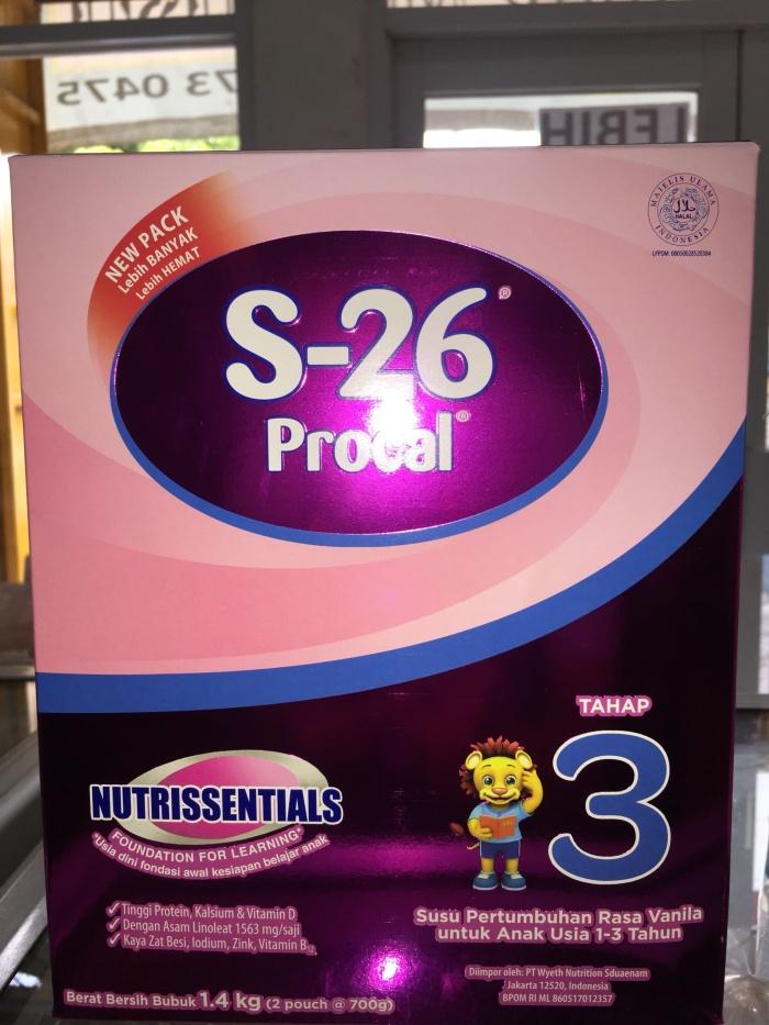 harga S26 procal tahap 3 vanilla 14 kg Tokopedia.com