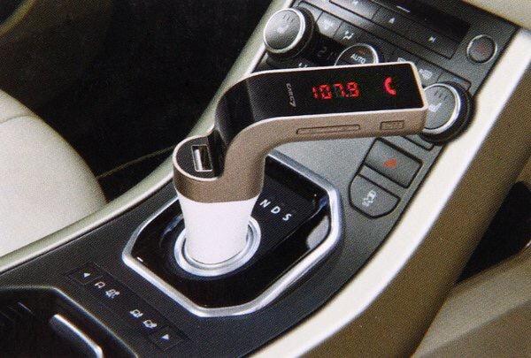 harga Car charger mobil bluetooth car g7 fm transmitter audio digital displa Tokopedia.com