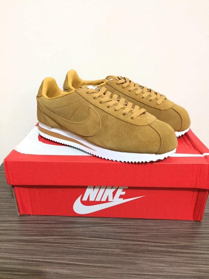 new arrival 784ae 71abd Jual Sepatu Nike cortez wheat Premium Original / sneakers wanita murah baru  - Jakarta Barat - threestripes | Tokopedia