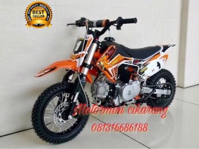 harga Motor mini trail rs 110cc mesin honda Tokopedia.com