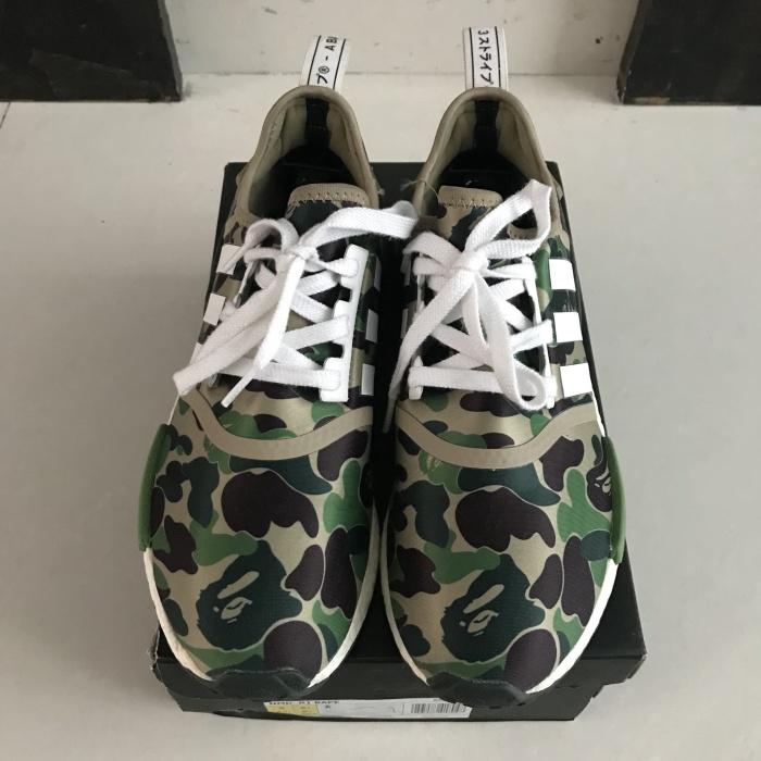 0a2e71944 Jual Adidas NMD R1 x Bathing Ape BAPE VNDS size 9 US 100% Authentic ...